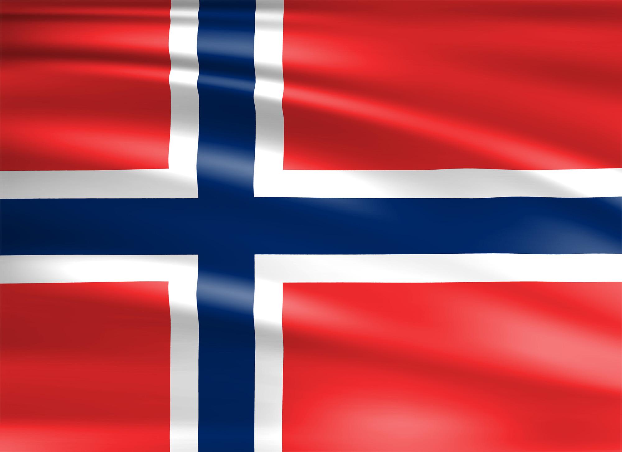 Flagge Norwegen | Wagrati