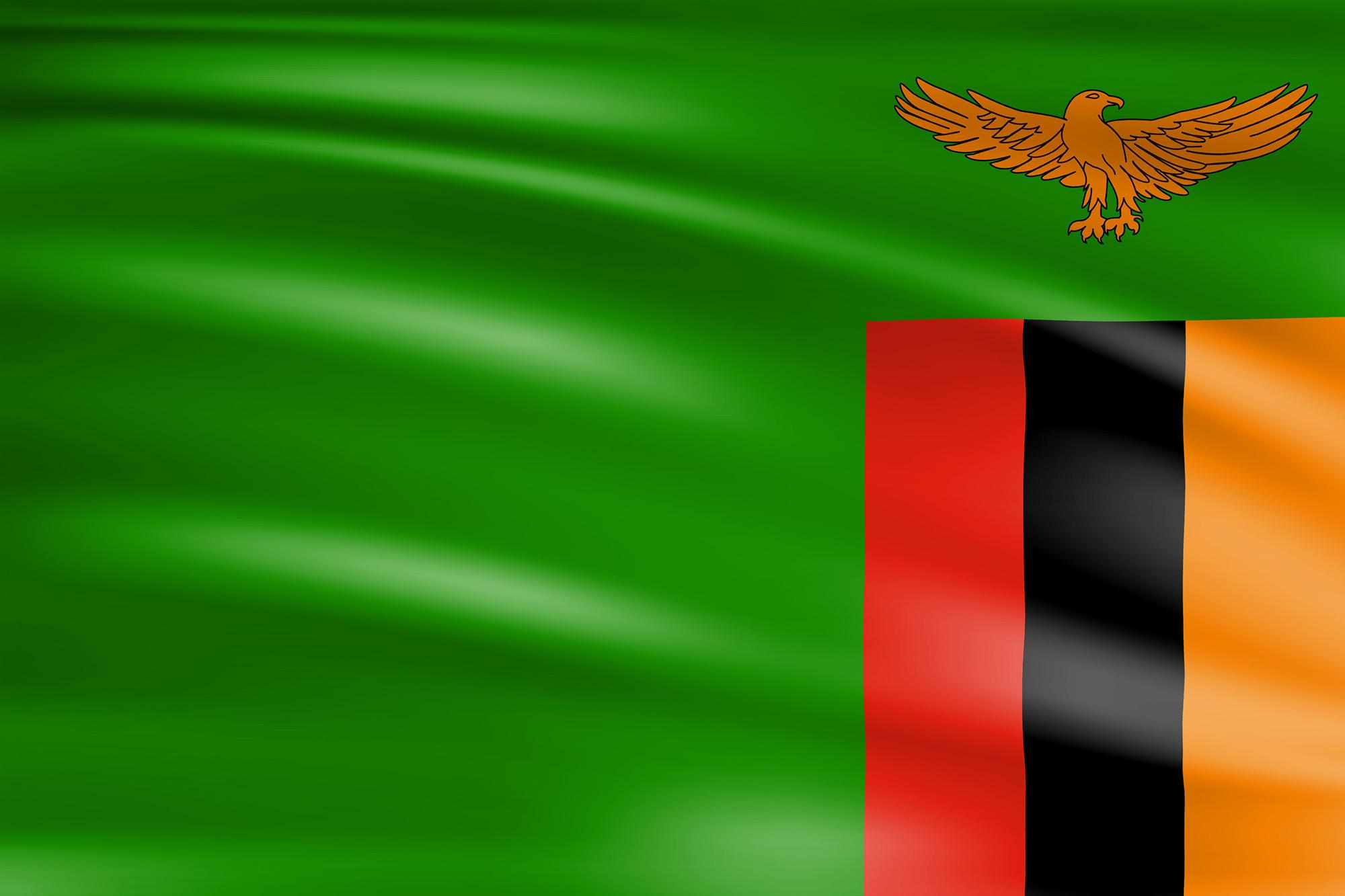 Flag of Zambia | Wagrati