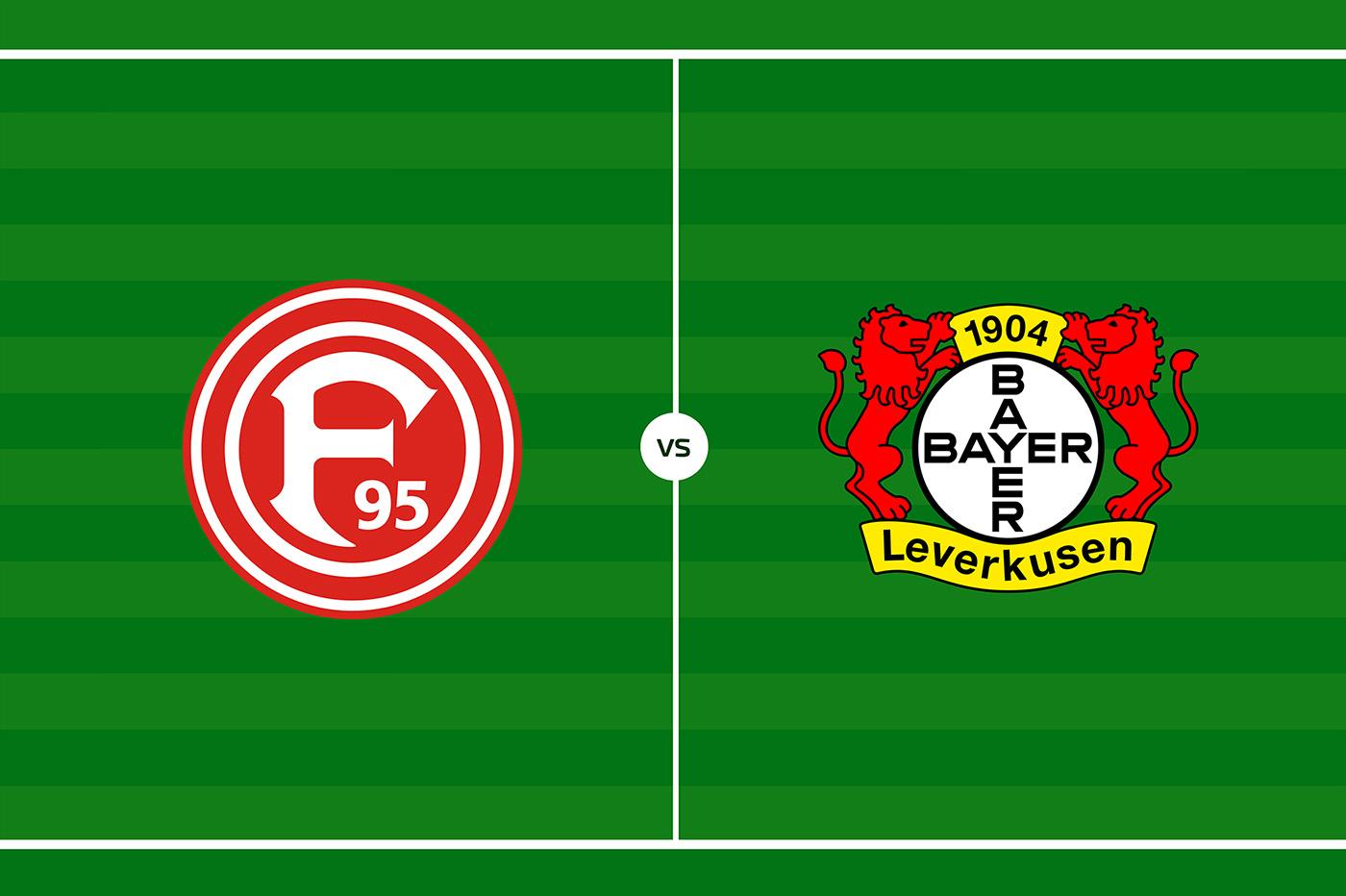 German Football League Fortuna Dusseldorf Vs Bayer